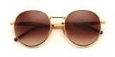Wildfox Sun Wildfox Dakota Sunglasses in Gold as seen on Vanessa Hudgens
