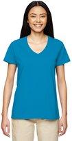 Gildan 5V00L Heavy CottonTM Women's V-Neck T-Shirt