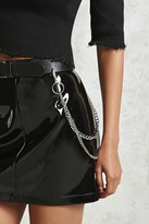 Forever 21 Faux Leather Chain Belt