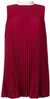 RED Valentino pleated shift dress