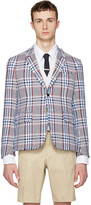 Thom Browne Multicolor Tweed High Armhole Blazer