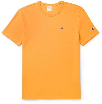 Champion Logo-Embroidered Cotton-Jersey T-Shirt