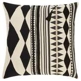 "Jaipur Gray Moroccan Cosmic Throw Pillow Cover (18""x18 Living"