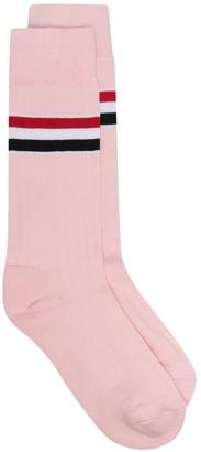 Thom Browne RWB stripe socks