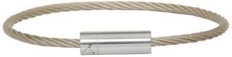 Le Gramme Silver Brushed Le 9 Grammes Cable Bracelet