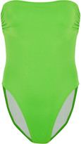 Norma Kamali Bishop bandeau swimsuit
