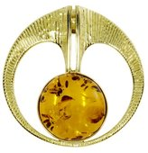 Ostsee-Schmuck Women's Pendant 333 / 000 Gold with Amber 001 103583 0100