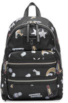 Marc Jacobs Tossed Charms Printed Backpack