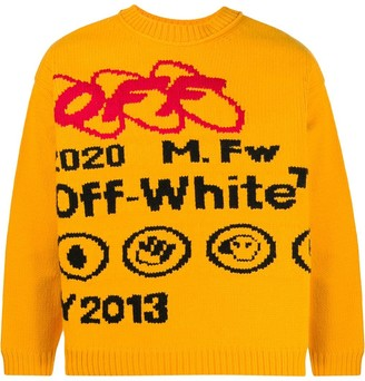 Off-White Industrial Y013 knitted jumper