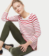 striped tunic sweater - ShopStyle