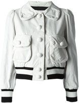Marc Jacobs corduroy bomber jacket - women - Silk/Cotton/Wool - 8