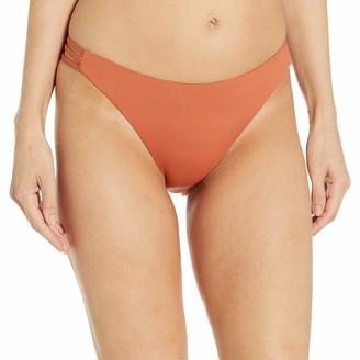Roxy Women's Solid Beach Classics Full Swim Bottom