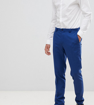 Noak skinny suit pants in blue