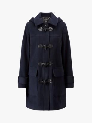 Four Seasons Duffle Coat, Navy