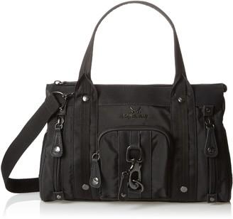 Sansibar Womens B-927 SA Top-handle Bag Black Size: 40x24x15