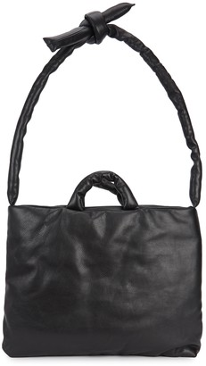 Kassl Editions Black leather tote