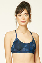Forever 21 Low Impact - Abstract Geo Sports Bra