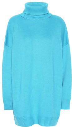 Balenciaga Oversized wool-blend sweater