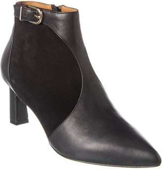 Joie Rawly Leather & Suede Bootie