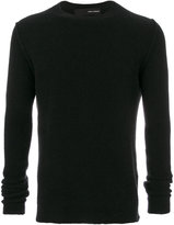 Isabel Benenato round neck knitted sweater