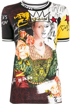 Dolce & Gabbana printed collage T-shirt