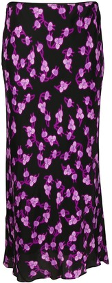 Dorothee Schumacher Radiant Leaves floral-print skirt