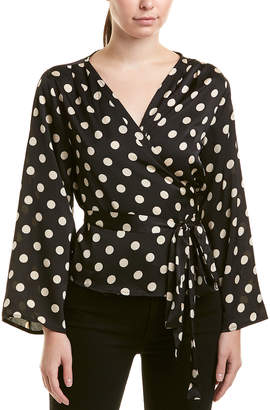 Lucca Couture Ruth Wrap Blouse