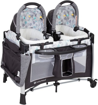 Baby Trend Go Lite Twins Nursery Center Playard