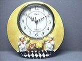 """ITALIAN Fat CHEF 3-Dimensional 12"""" Wall Clock BRAND NEW"""