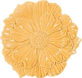 Fitz & Floyd S/4 Savannah Canape Plates, Yellow