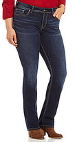 Silver Jeans Co. Plus Suki High Straight Leg Jeans