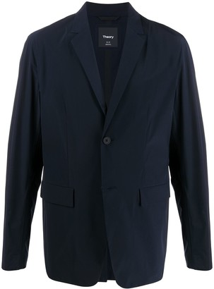Theory Fitted Button Blazer