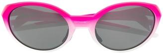 Oakley oval frame sunglasses