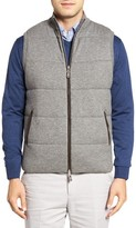 Peter Millar Men's Quilted Wool & Cotton Vest