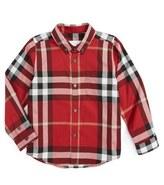 Burberry Mini Fred Check Woven Shirt (Little Boys & Big Boys)