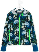Stella McCartney palm tree print jacket - kids - Polyester - 4 yrs