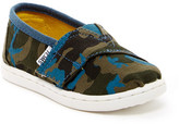 Toms Camo Print Canvas Slip-On Shoe (Baby, Toddler, & Little Kid)
