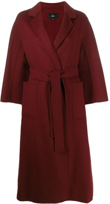 Arma Wool Belted Wrap Coat