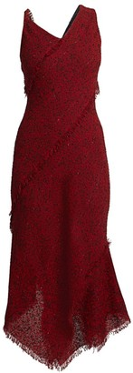 Roland Mouret Amargo Boucle Dress