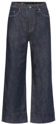 AG Jeans Etta high-rise wide-leg jeans