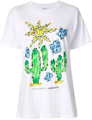 P.A.R.O.S.H. Desert crew neck T-Shirt