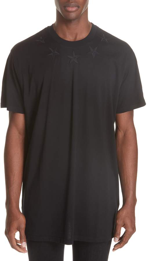 Givenchy Star Applique T-Shirt