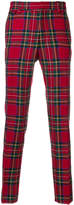 Burberry designer checked trousers