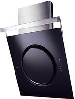 Elica Collection IO Chimney Cooker Hood, Stainless Steel / Black