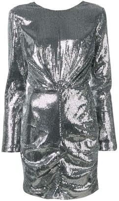 MSGM Longsleeved Sequin Dress