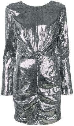 MSGM longsleeved sequin dress