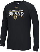 Reebok Men's Boston Bruins TNT Freeze Reflect PlayDry Performance Tee