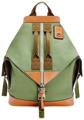 Loewe Canvas Convertible Backpack