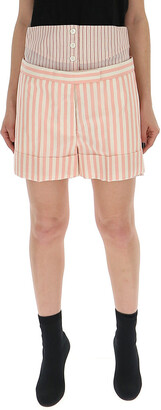 Thom Browne Pinstripe Tailored Shorts