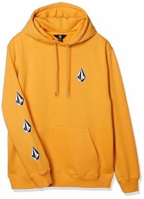 Volcom Men's Deadly Stones 2 Pullover Hooded Fleece Sweatshirt